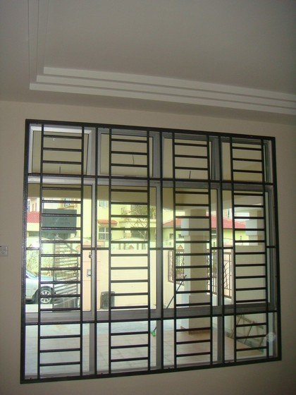 Window grill designs indian homes joy studio design for Window design catalogue