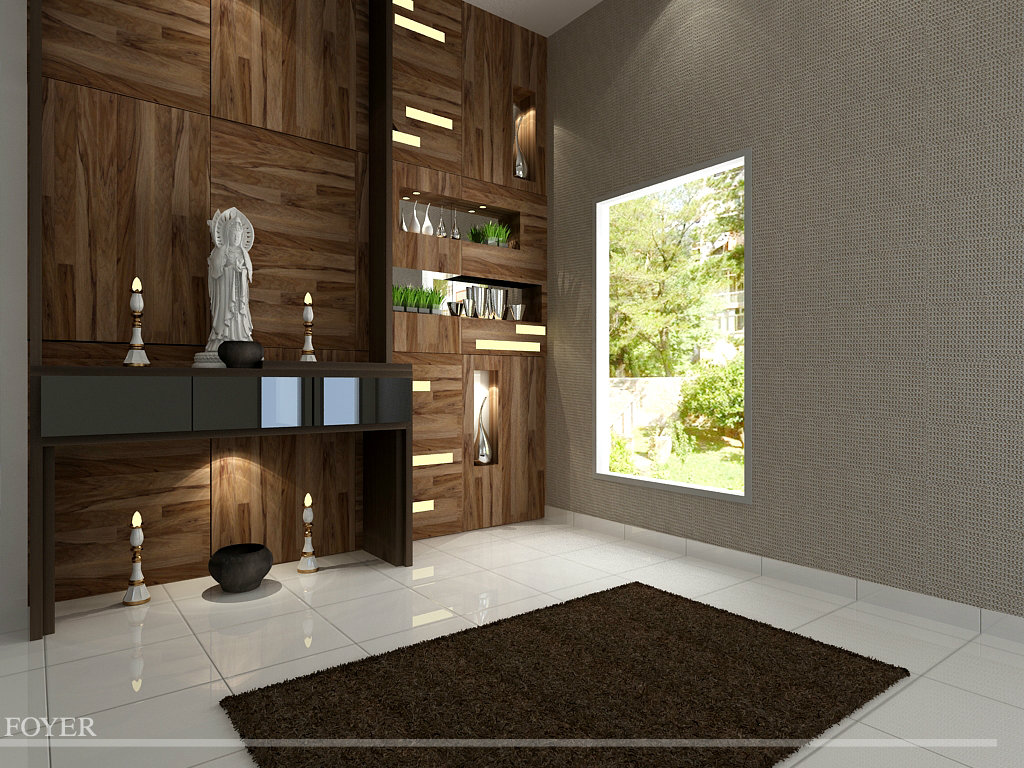 Foyer design seri alam project other jb johor bahru design for Foyer area interior