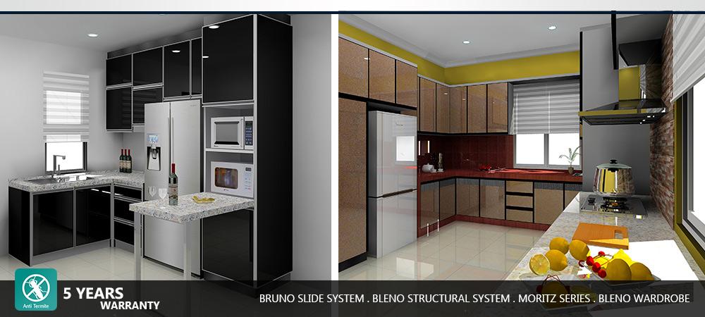 aluminium kitchen cabinet wardrobe supplier johor bahru On kitchen cabinets johor bahru