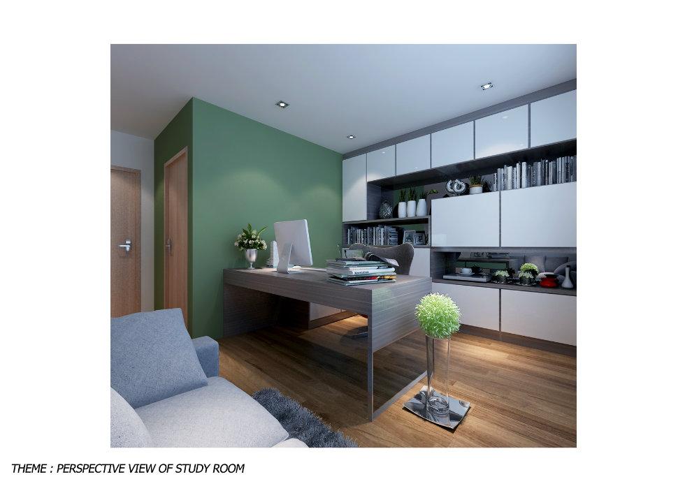 Study area study room johor bahru jb malaysia design for Room interior design sdn bhd