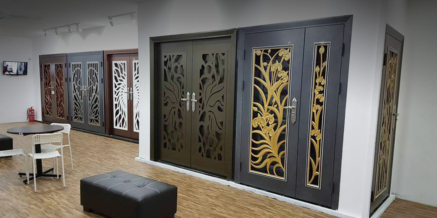 Security door supplier selangor klang anti burglary for Door design johor bahru