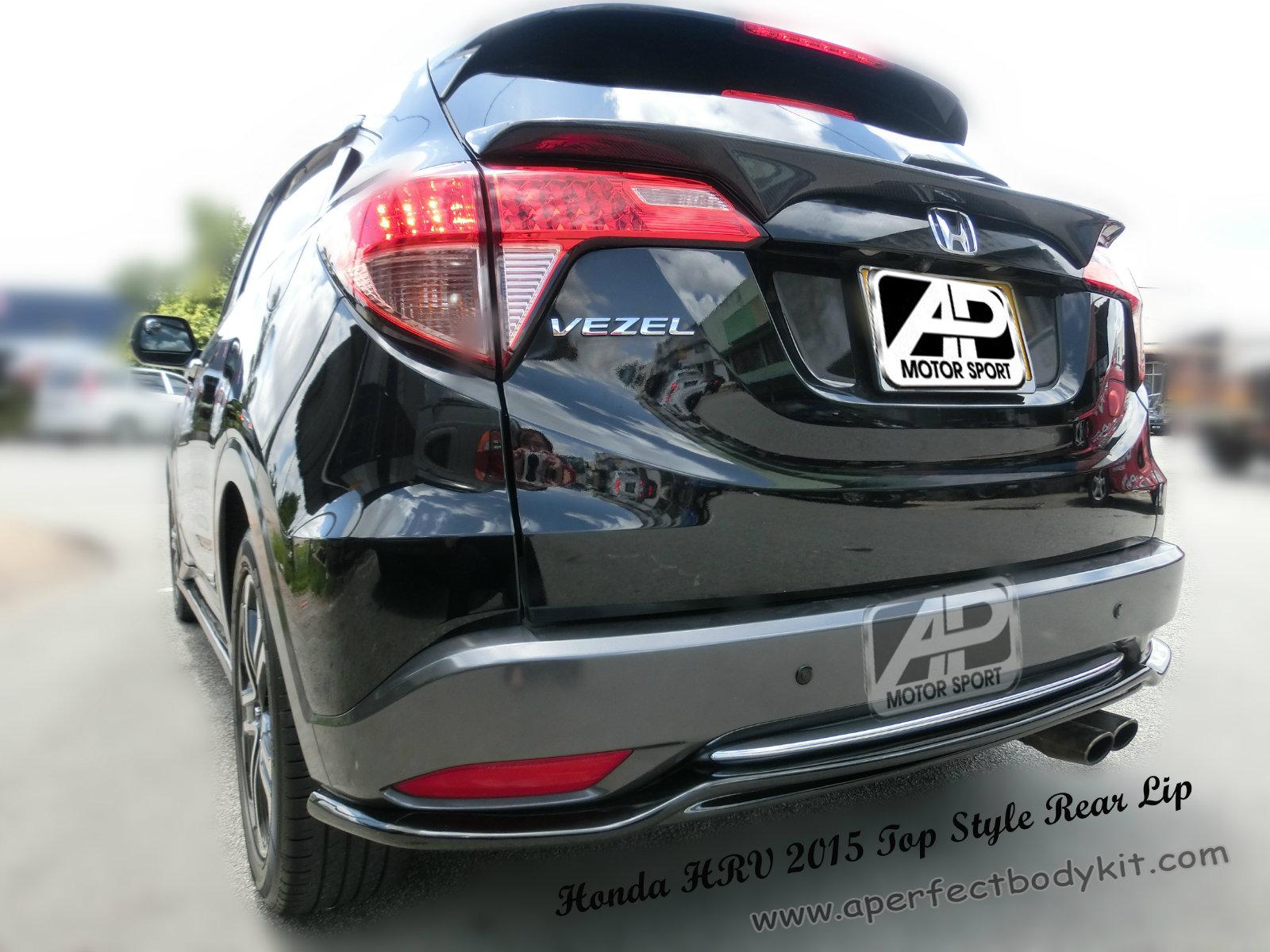 Honda Hrv Vezel 2015 Top Style Rear Lip Honda Hrv