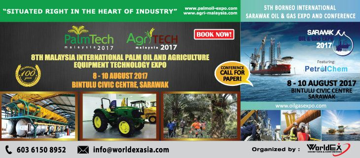 8th Malaysia International Palm Oil & Agriculture Equipment and Technology Expo (PALMTECH & AGRITECH