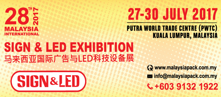 28th Malaysia International Sign & LED Exhibition 2017