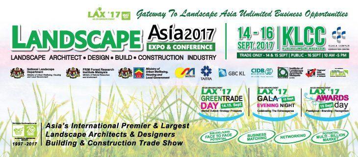 LANDSCAPE ASIA EXHIBITION & CONFERENCE (LAX 2017)