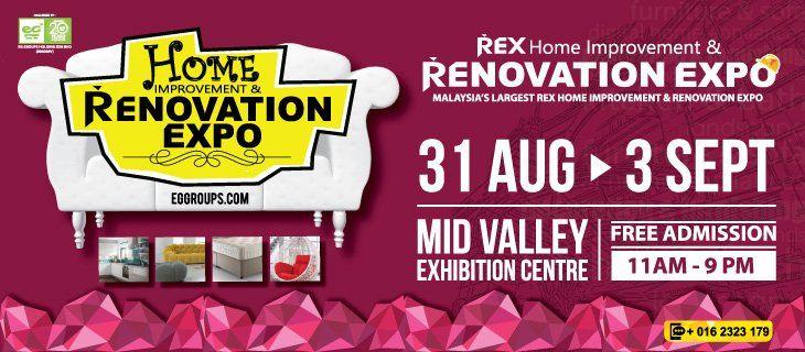Malaysia's Largest Rex Home Improvement & Renovation Expo (REX 2017)
