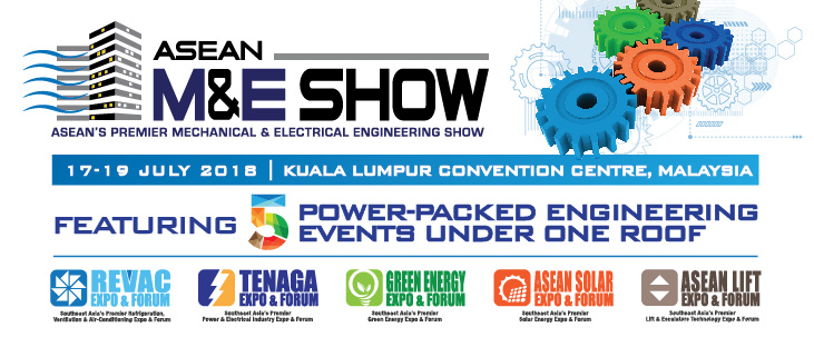 Asean's Premier Mechanical & Electrical Engineering Show 2018