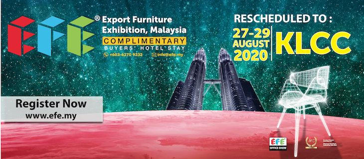 The 16th Export Furniture Exhibition Malaysia (EFE 2020)