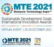MTE 2021 - SUSTAINABLE DEVELOPMENT GOALS INTERNATIONAL INNOVATION AWARDS (SDGIIA)