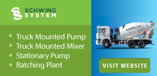 Schwing System Sdn Bhd is a concrete pump and concrete machinery supplier company. Our office is located in Seri Kembangan, Selangor, Malaysia. We provide sales and rental services for truck mounted pump, truck mounted mixer, stationary pump, batching pla